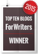 Write to Done Top 10 Blogs for Writers 2015 Winner