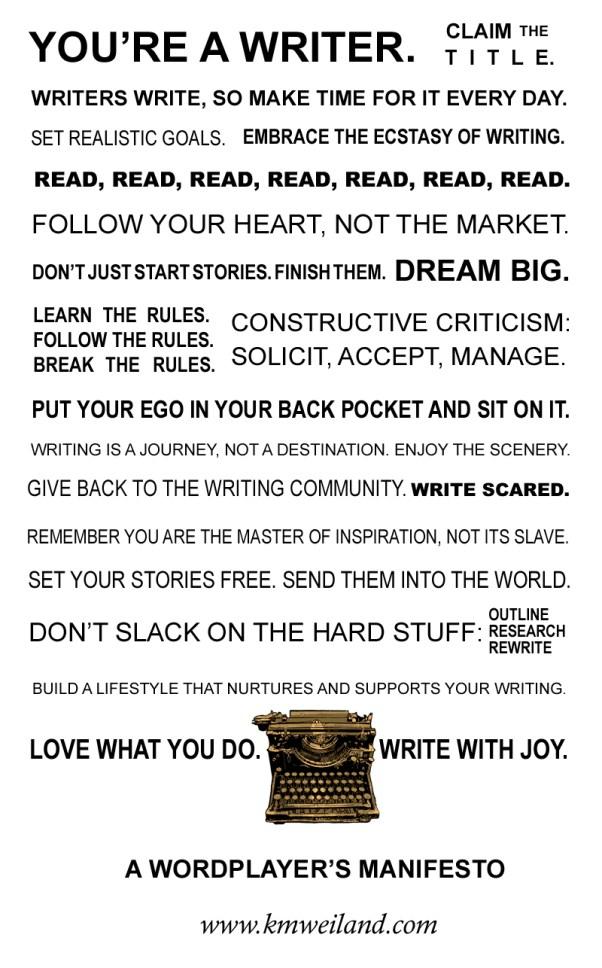 A Wordplayer's Manifesto