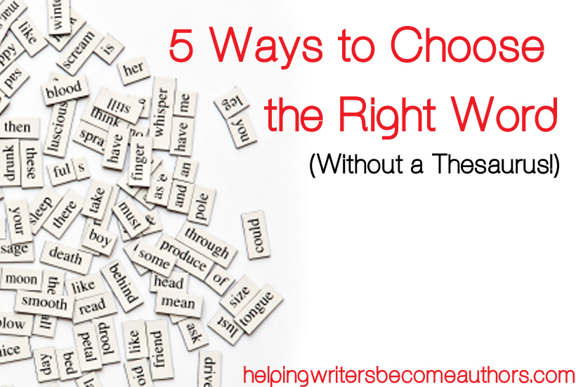 5 key ways to choose the right word without a thesaurus helping tell me your opinion what do you do to improve your word choices solutioingenieria Choice Image