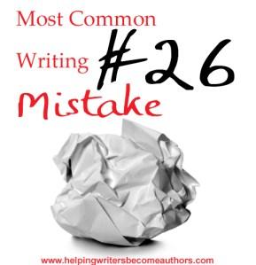 Most Common Writing Mistakes, #26: Under-Explaining
