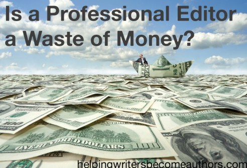 is a professional editor a waste of money