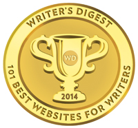 Writer's Digest 101 Best Websites for Writers Badge