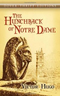 Hunchback of Notre Dame Book Cover by Victor Hugo