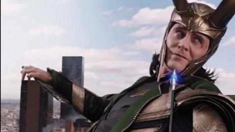 Loki Riding Chitauri Avengers Climax Tom Hiddleston