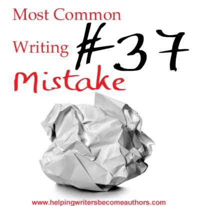Most Common Writing Mistakes, Pt. 37: Unnecessary Filler