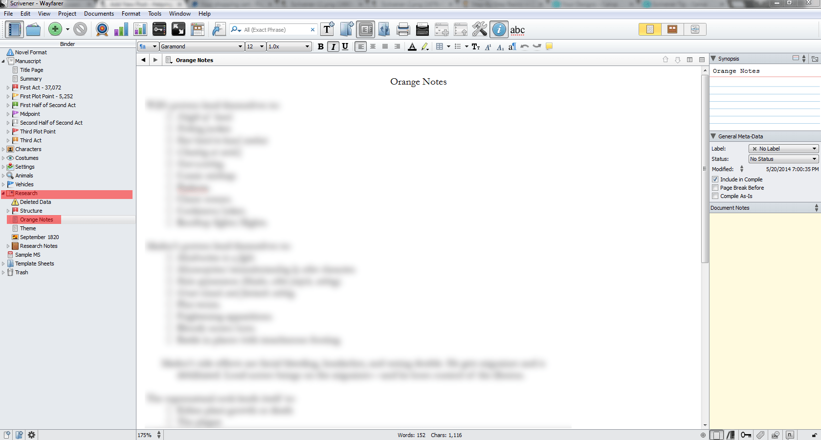 My Writing Process Pt 1 Of 2 How I Use Scrivener To Outline My