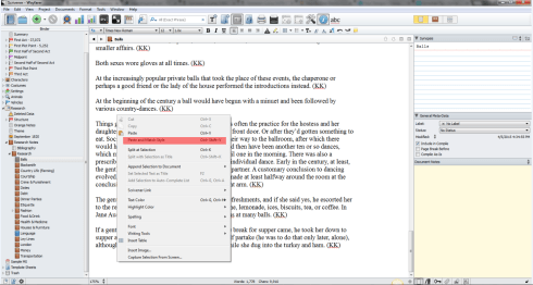 Scrivener_Wayfarer_Paste_and_Match_Style