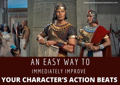 An Easy Way to Immediately Improve Your Character's Action Beats
