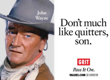 Don't Much Like Quitters, Son John Wayne