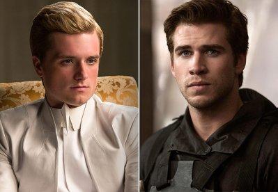 Gale Peeta Hunger Games Mockinjay Josh Hutcherson Liam Hemsworth