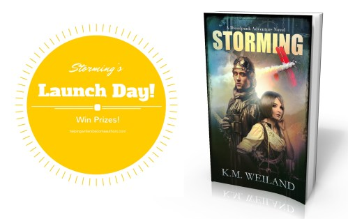 Storming's Launch Day! Win Prizes!