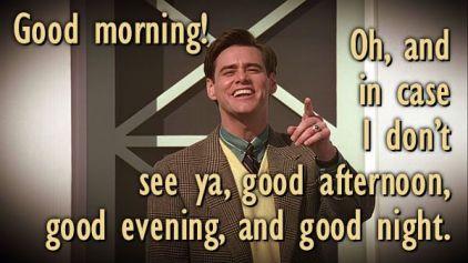 Truman Show Good Morning