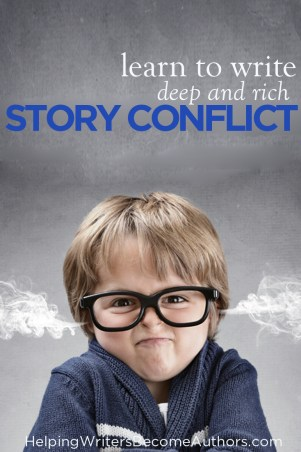 Learn to Write Deep and Rich Story Conflict