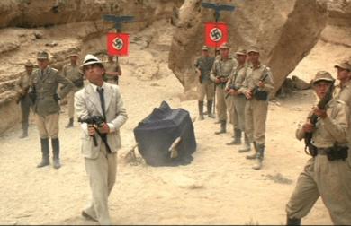 Raiders of the Lost Ark Indiana Jones Nazis Steven Spielberg