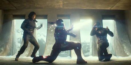 Bucky Barnes Winter Soldier Iron Man Tony Stark Capain America Steve Rogers Civil War Final Battle