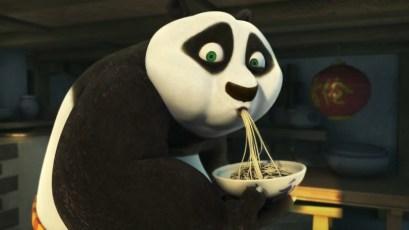 Po Kung Fu Panda Eating Noodles