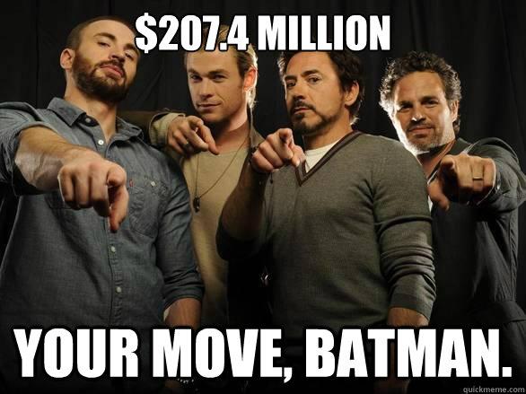 Avengers Say Your Move Batman
