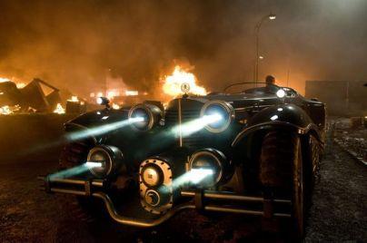 Captain America First Avenger Red Skull Steampunk Car