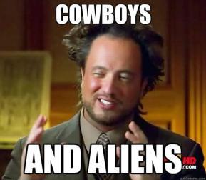 Cowboys and Ancient Aliens Meme