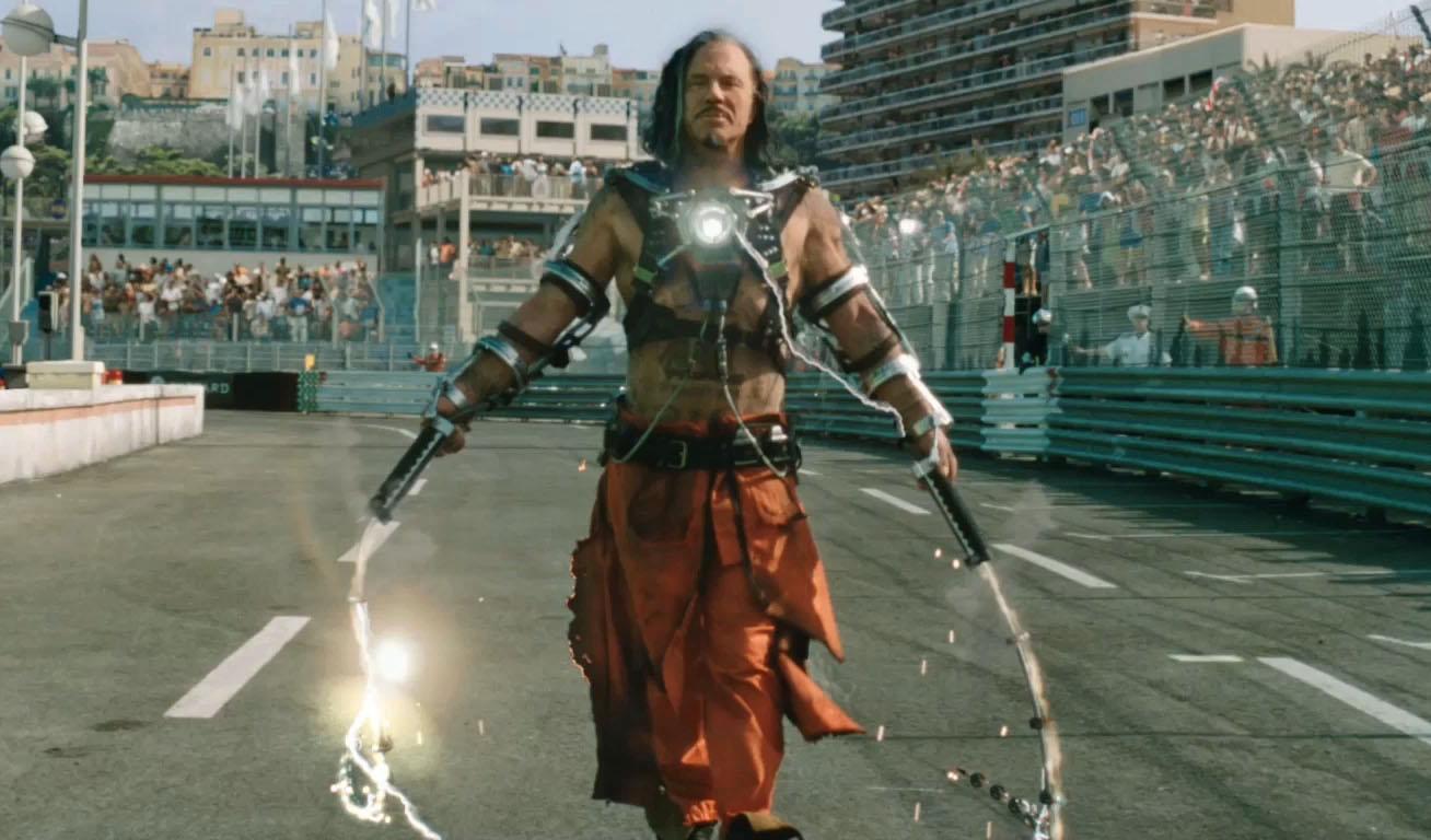 Iron Man 2 Mickey Rourke Whiplash Ivan Vanko Monaco