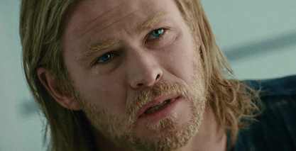 Thor Sad Face Reflection