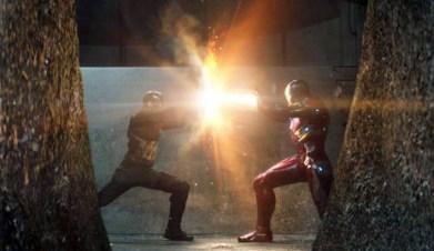 Captain America Civil War Shield Flare