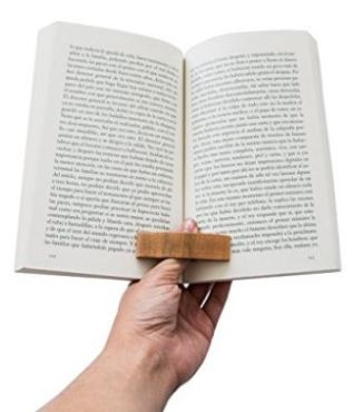 Gift for Writers 10: Wooden Thumb Pageholder