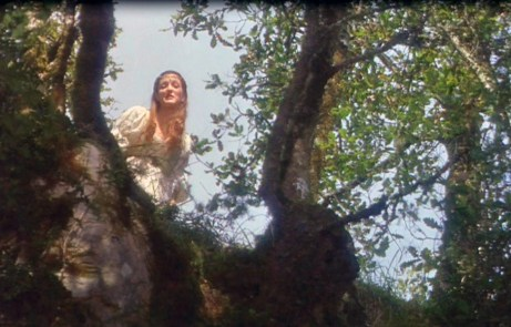 Danielle Climbs the Tree in Ever After