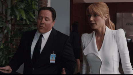 Iron Man 3 Happy Hogan Pepper Potts Jon Favreau Gwyneth Paltrow