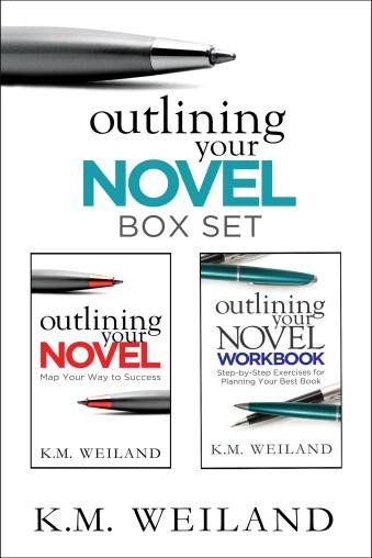 Outlining Your Novel Bundle With Border