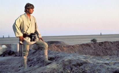 luke skywalker tatooine star wars new hope