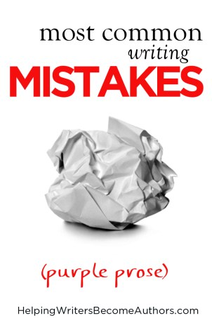 Most Common Mistakes (Purple Prose)