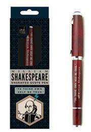 12 SHakespeare Quote Pen