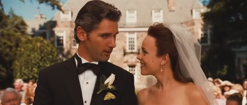 Time Traveler's Wife Wedding Rachel McAdams Eric Bana