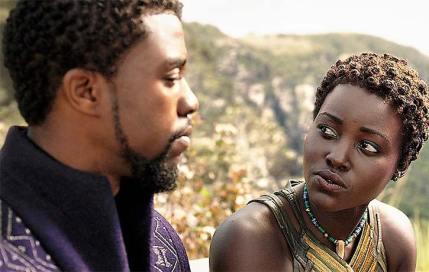 Black Panther TChalla Nakia Chadwick Boseman Lupita Nyongo