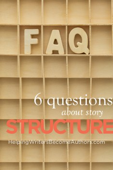 6 questions about story structure