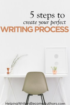5 steps to create your perfect writing process