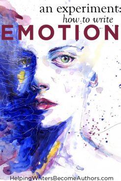 how to write emotion