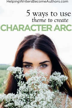 use theme to create character arc