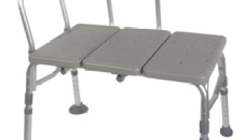 Tub Transfer Bench With Sliding Seat - Help Me Devices
