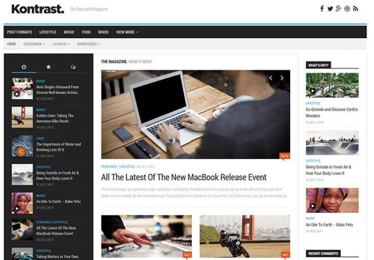 Kontrast Free WordPress Theme