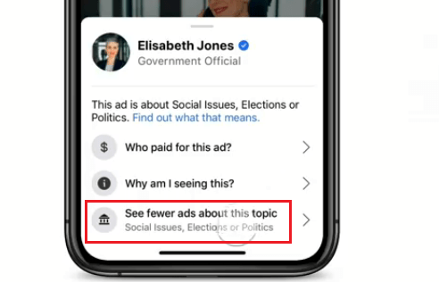 Turn off Political Ads on Facebook