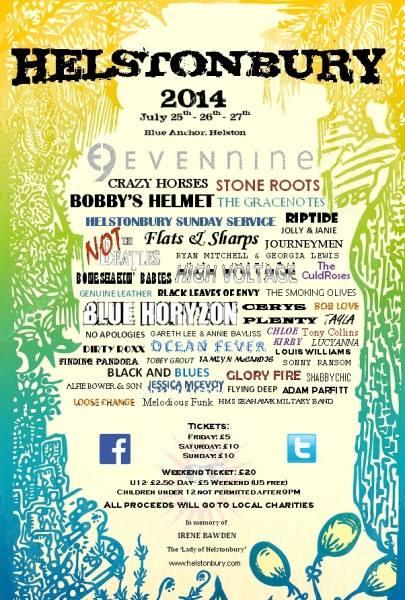 Helstonbury 2014 Poster