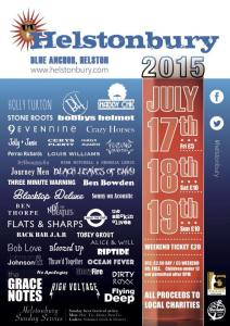 Helstonbury 2015 Poster