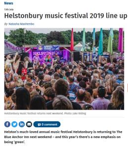 Helstonbury Music Festival 2019