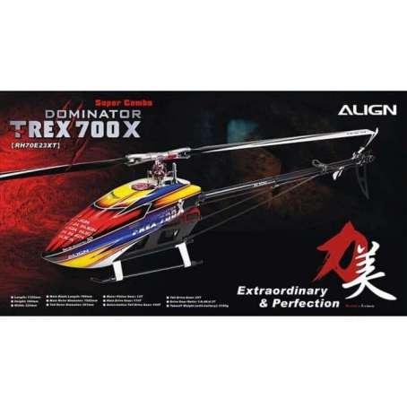 Align T-rex 700x Super Combo, Align T-REX 700X Super Combo-Team Pilot