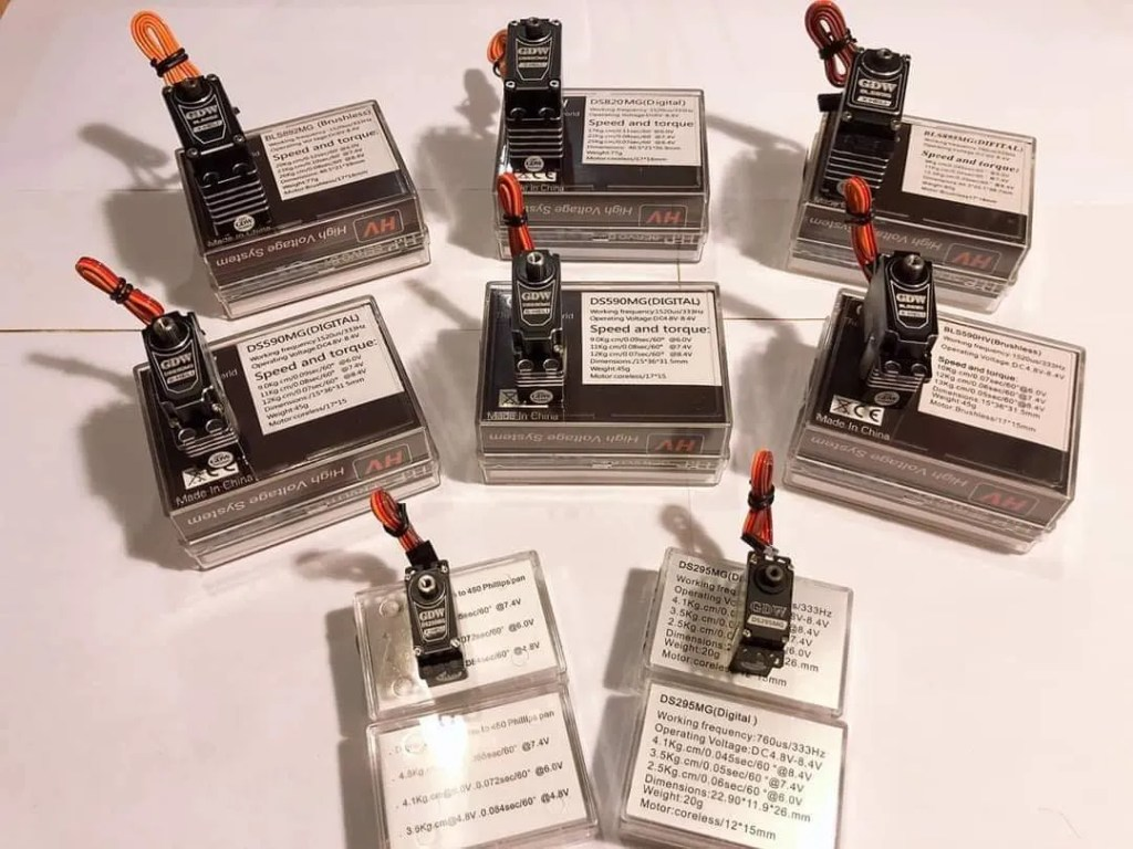 gdw servos, GDW Servos In Stock at Hely-shop.co.uk