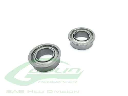 ABEC-5 Flanged bearing 07x 011 x 3 (2pcs) HC416-S