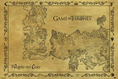 Game-Of-Thrones-Antique-Map-61-x-91-cm-Affiche-0