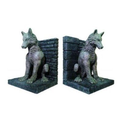 Game-of-Thrones-Direwolf-Bookends-0